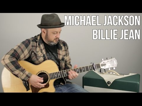 Michael Jackson - Billie Jean - How To Play On Guitar - Guitar Lesson