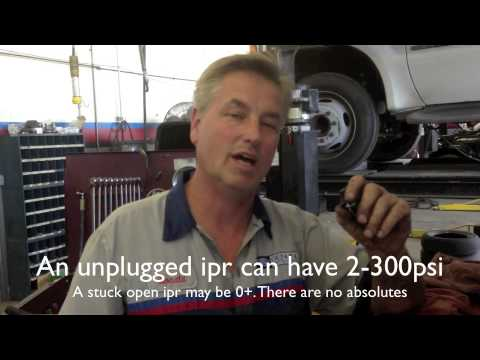 06 Ford Powerstroke Diesel No Start Low Injection Pressure