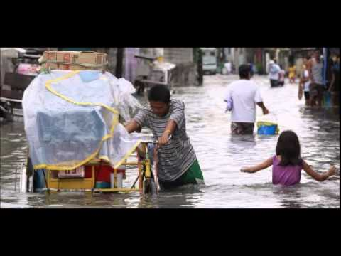 Storm Linfa brings floods to northern Philippine towns