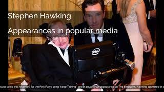 Stephen Hawking   Appearances in popular media