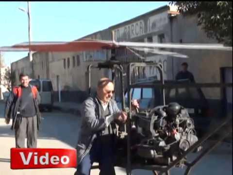 65 yaşında helikopter yaptı - Gazete32