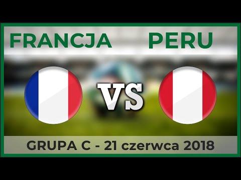 FRANCJA - PERU | Grupa C - Mundial | 21.06.2018 (Piłka Nożna)