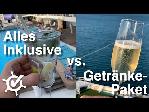 Alles Inklusive bei TUI Cruises oder AIDA mit Getränkepaket - was ist besser? ⚓︎