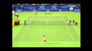Serena Williams v Virginia Ruano Pascual Hopman Cup WTA HIghlights