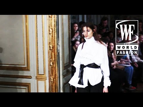 Front Row Moon Young Hee Fall-Winter 15-16 Paris Fashion Week
