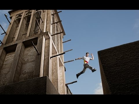 Parkour in Dubai - Ryan Doyle 2013