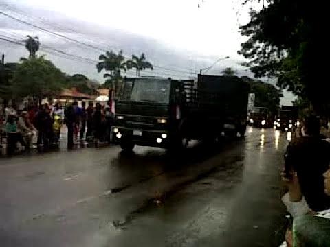 Desfile por el Bicentenario del Paraguay 1811-2011 1/12