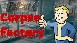 [18+] FALLOUT 4 - Corpse Factory - ARENA on CONVEYORS