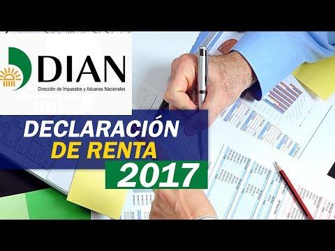 Declaración Renta 2017 - DIAN Colombia