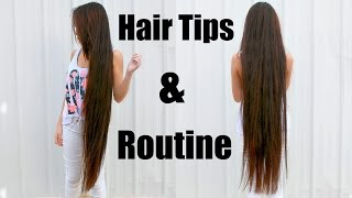 Tips On How To Get Long Hair & My Hair Care Routine