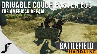 Drivable Couch Easter Egg - Battlefield Hardline