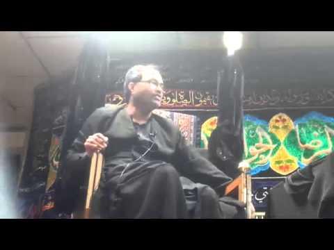 Maulana Qambar Ali Rizvi 30th Muharram Birmingham (UK)