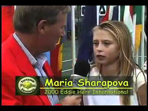 Maria Sharapova at 13 years old