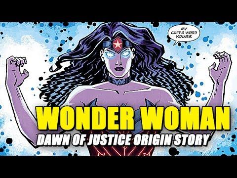Wonder Woman Demigod Origin Story