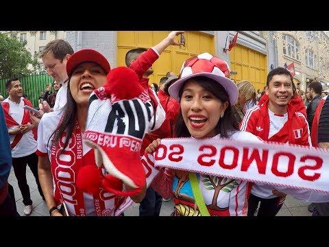 Болельщики сборной Перу. Los fans de Perú en moscú 2018 Vamos Perú!!!