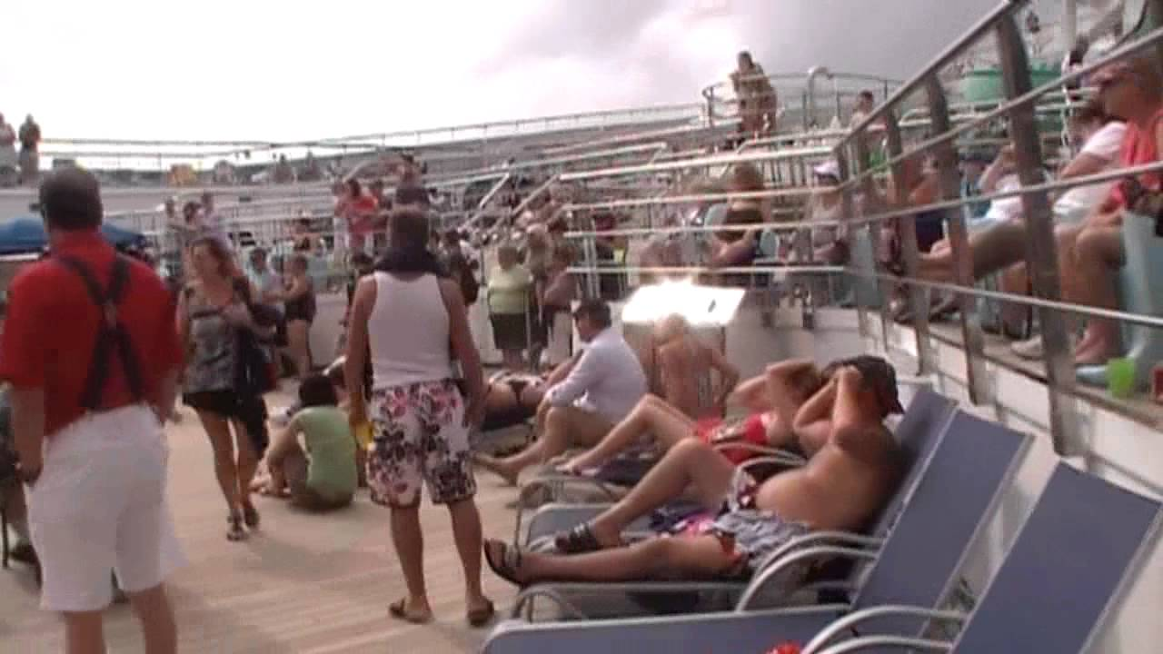 Tour Of The Carnival Glory Part 2  YouTube