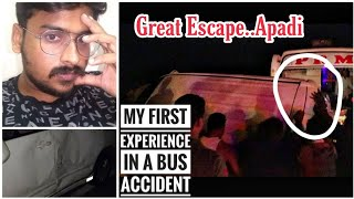 Bus Accident | Tamil Vlog | Bus Review