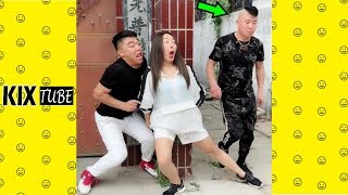 Watch keep laugh EP319 ● The funny moments 2018