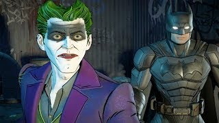 Batman and The Joker Vs Bane - Batman Telltale
