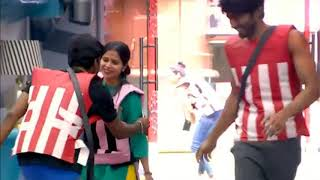 BIGG  BOSS 3 : Luxury Budget Task|Cheran got injured in a task