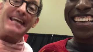 Mickey Mouse meets Spongebob (I met Tom Kenny)