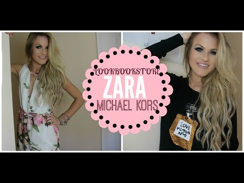 ♡ TRY ON HAUL: LookbookStore, Zara, & Michael Kors! ♡