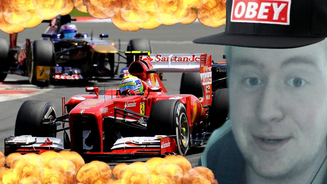 EPIC F1 YouTuber Race!
