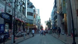 Driving in Japan - Narrow Streets & Residential Areas 1/2