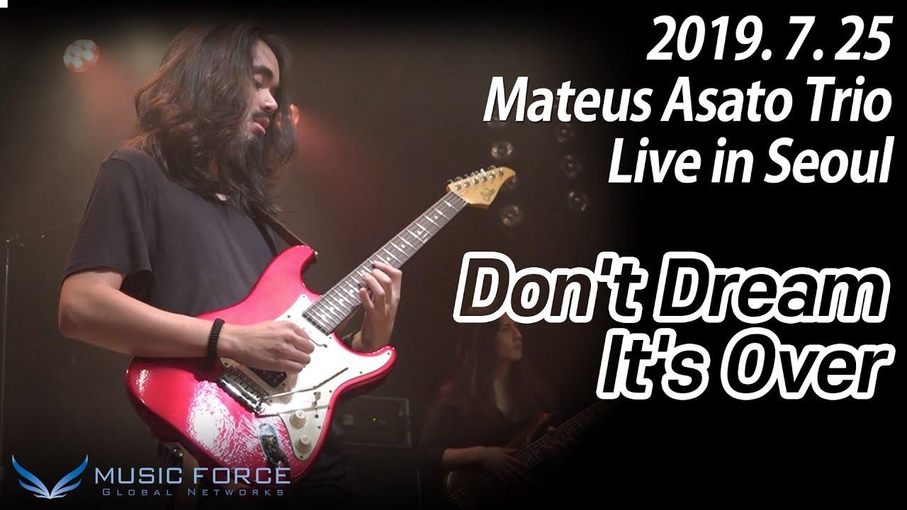 "Mateus Asato Trio - 2019.07.25 West Bridge (Seoul, Korea)でのライブから""Don't Dream It's Over""の映像を公開 thm Music info Clip"