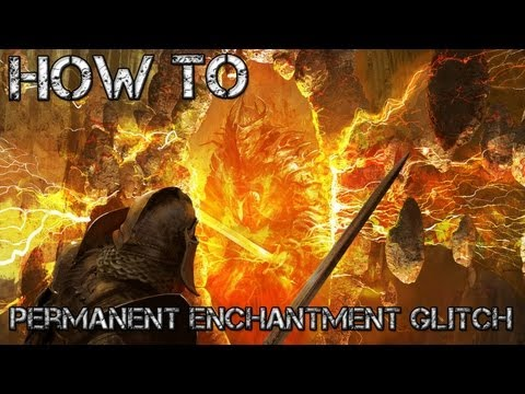 Oblivion - Permanent Enchantment Glitch on Xbox 360 & PS3 (Commentary)