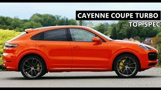 2020 Porsche Cayenne Coupe Turbo - Top Spec Version with Special Color and Options