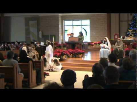 The Nativity - Sacred Heart Catholic School - December 24, 2011