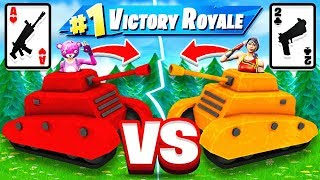 WAR Card Game BATTLE *NEW* Game Mode in Fortnite Battle Royale