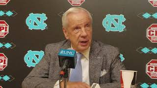 North Carolina head coach Roy Williams