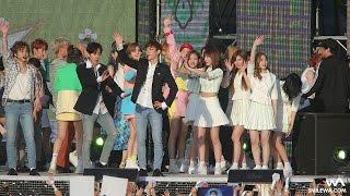 170519 TWICE & EXID & 나비 & EXO-CBX 엔딩 4K 직캠 @전주 뮤직뱅크 4K Fancam by -wA-