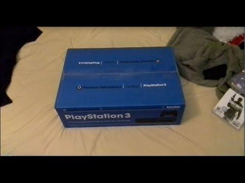 Playstation 3 40GB Gamestop Refurbished Unboxing (Read Description)
