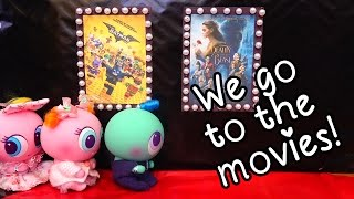 Movie Time ! Toys and Dolls Fun Taking Babies to the Movies | SWTAD