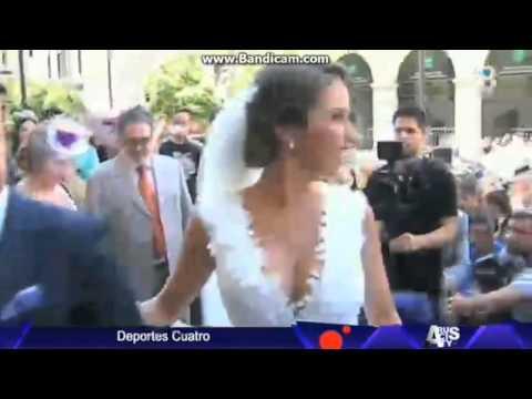 ¡Rakitic y Raquel Mauri se casan en Sevilla!