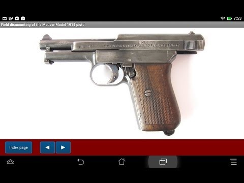 Mauser pistol model 1914 explained - Android APP - HLebooks.com