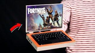 Amazing DIY Mini Laptop