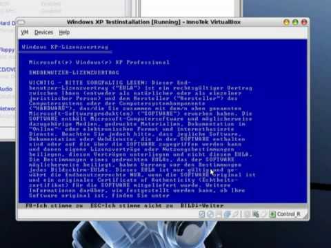 How To Run Windows Xp On Linux Ubuntu With Virtualbox (pakcm) video