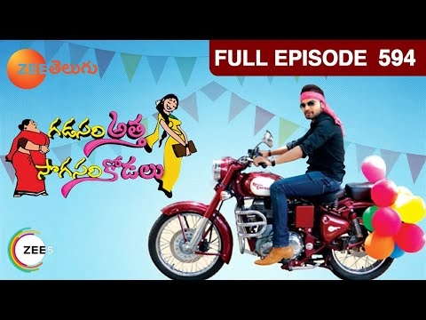 Gadasari Atta Sogasari Kodalu 2 - Watch Full Episode 594 of 16th May 2013