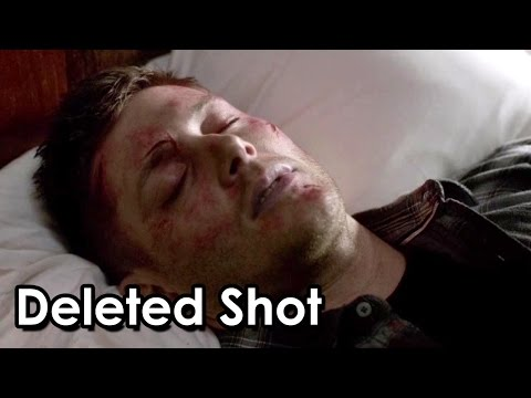 Supernatural Season 9 Finale Deleted Shot The Mark of Cain glows