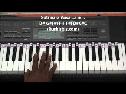 Chinna Chinna Aasai Piano Tutorials - Roja (Tamil)