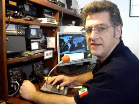 CONTACTO DE XE1R CON  NA1SS - INTERNATIONAL SPACE STATION - ISS - CL. DOUG WHEELOCK