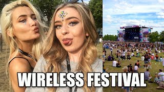 HAVING FUN AT WIRELESS FESTIVAL!