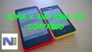 Nokia X Vs Asha 501, A Comparison