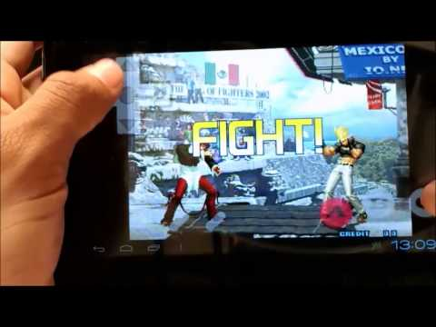 THE KING OF FIGHTERS 2002 y 2000 para TABLET ATVIO  y cualquier android