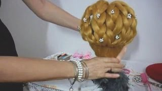 Trança elegante e fácil - Very easy graceful braid hairstyle