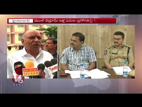 Telangana CS SK Joshi Holds Review Meet On Musi River Cleansing Works | V6 News
